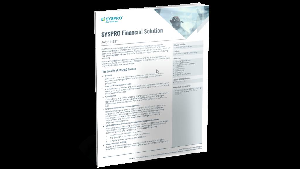 SYSPRO-ERP-software-system-finance-factsheet